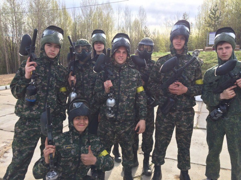 """ВПК """"Белый медведь"""" принял участие в межрегиональной военно-спортивной игре """"Спецназ""""."""